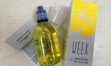 Упаковка и инструкция по применению Weex для похудения