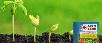 Средство Агрохелп для растений.